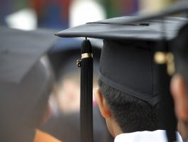 university graduation hat